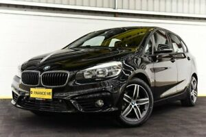 2016 BMW 218i F45 Sport Line Active Tourer Steptronic Black 6 Speed Automatic Hatchback Canning Vale Canning Area Preview