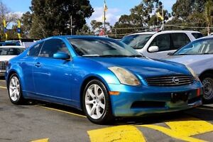 2003 Nissan Skyline V35 350GT Blue 5 Speed Sports Automatic Coupe Ringwood East Maroondah Area Preview