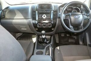 2012 Ford Ranger PX XL Double Cab 4x2 Hi-Rider White 6 Speed Manual Utility Minchinbury Blacktown Area Preview