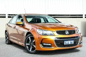 2017 Holden Commodore VF II MY17 SV6 Orange 6 Speed Automatic Sedan Cannington Canning Area Preview