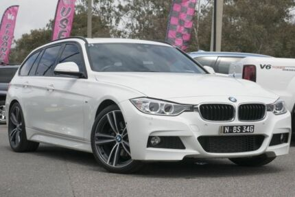2015 BMW 328i F31 MY1114 M Sport Touring Black 8 Speed Sports Automatic Wagon Phillip Woden Valley Preview