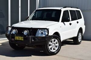 2011 Mitsubishi Pajero NW MY12 GLX White 5 Speed Sports Automatic Wagon Rutherford Maitland Area Preview