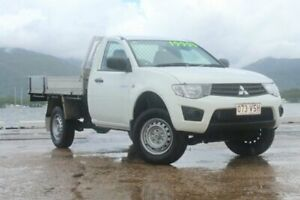 2015 Mitsubishi Triton MN MY15 GLX 4x2 White 5 Speed Manual Cab Chassis Portsmith Cairns City Preview