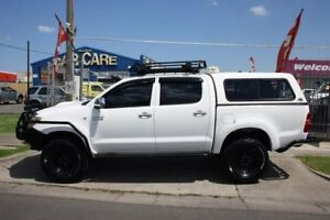 2006 Toyota Hilux KUN26R MY05 SR White 5 Speed Manual Utility