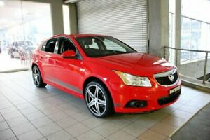 2012 Holden Cruze JH MY12 CD Red 6 Speed Automatic Hatchback Thornleigh Hornsby Area Preview