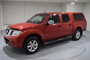 2013 Nissan Navara D40 S5 MY12 ST-X 550 Red 7 Speed Sports Automatic Utility Invermay Launceston Area Preview