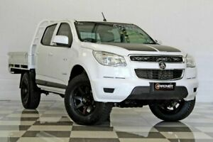 2013 Holden Colorado RG LX (4x2) White 5 Speed Manual Crew Cab Chassis Burleigh Heads Gold Coast South Preview