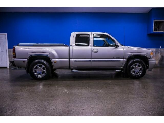 2004 gmc sierra rare denali quadrasteer awd leather low. Black Bedroom Furniture Sets. Home Design Ideas