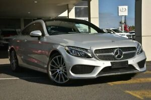 2016 Mercedes-Benz C250 C205 d 9G-Tronic Silver 9 Speed Sports Automatic Coupe Mornington Mornington Peninsula Preview