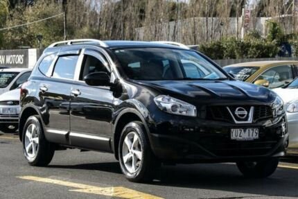 2011 Nissan Dualis J10 Series II +2 ST (4x2) Black 6 Speed CVT Auto Sequential Wagon Ringwood East Maroondah Area Preview