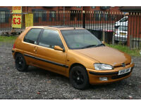 Peugeot 106 1.1 (Cheap car with long MOT)
