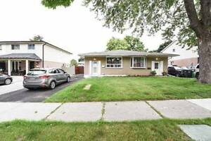 A Must See Semi Detached 3+1 Bungalow With Finished Basement