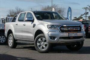 2018 Ford Ranger PX MkIII 2019.00MY XLT Pick-up Double Cab 4x2 Hi-Rider Silver 6 Speed Hoppers Crossing Wyndham Area Preview