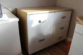 Set of 3 Office Drawers