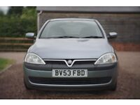 2003 Vauxhall Corsa AUTO in excellent condition *LOW MILEAGE*