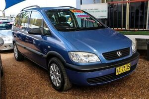 2004 Holden Zafira TT MY03 Blue 4 Speed Automatic Wagon Minchinbury Blacktown Area Preview