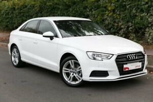 2018 Audi A3 8V MY19 35 TFSI S Tronic White 7 Speed Sports Automatic Dual Clutch Sedan Parkside Unley Area Preview