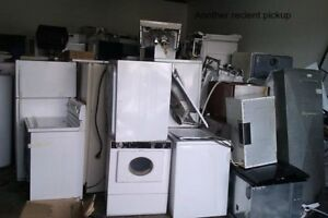 Scrap metal and appliances removal