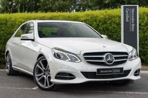 2013 Mercedes-Benz E-Class W212 MY13 E250 7G-Tronic + White 7 Speed Sports Automatic Sedan Narre Warren Casey Area Preview