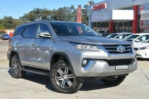 2017 Toyota Fortuner GUN156R GXL Grey 6 Speed Automatic Wagon Wyoming Gosford Area Preview
