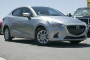 2016 Mazda 2 DL2SAA Maxx SKYACTIV-Drive Silver 6 Speed Sports Automatic Sedan Pearce Woden Valley Preview