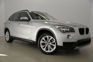 2012 BMW X1 E84 LCI sDrive18d Steptronic Silver 8 Speed Sports Automatic Wagon Mansfield Brisbane South East Preview