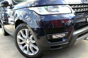 2013 Land Rover Range Rover LW Sport 3.0 TDV6 SE Blue 8 Speed Automatic Wagon Petersham Marrickville Area Preview