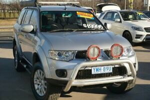 2012 Mitsubishi Challenger PB (KH) MY12 LS Silver 5 Speed Sports Automatic Wagon Pearce Woden Valley Preview