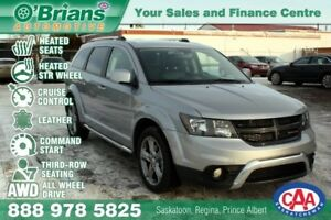 2017 Dodge Journey Crossroad w/AWD, #4d Row, Leather