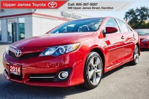 2014 Toyota Camry SE - Toyota Certified with LOW kms.