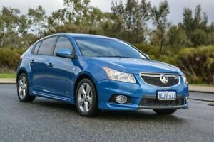 2013 Holden Cruze JH Series II MY13 SRi-V Black 6 Speed Sports Automatic Hatchback Cannington Canning Area Preview