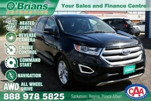 2016 Ford Edge SEL w/4WD, Nav, Command Start