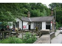 Experienced Manager required for busy cafe in the Peak District - flexible hours, immediate start