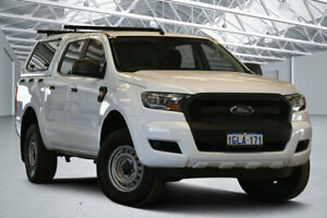 2017 Ford Ranger PX MkII XL Hi-Rider Winter White 6 Speed Sports Automatic Utility Perth Airport Belmont Area Preview