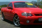 2007 Ford Falcon BF Mk II XR8 Ute Super Cab Red 6 Speed Manual Utility Portsmith Cairns City Preview