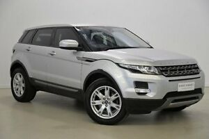 2013 Land Rover Range Rover Evoque L538 MY13 SD4 CommandShift Pure Silver 6 Speed Sports Automatic Mansfield Brisbane South East Preview