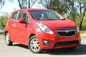 2015 Holden Barina Spark MJ MY15 CD Red 5 Speed Manual Hatchback Bungalow Cairns City Preview