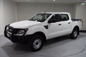 2013 Ford Ranger PX XL Double Cab White 6 Speed Sports Automatic Utility South Launceston Launceston Area Preview