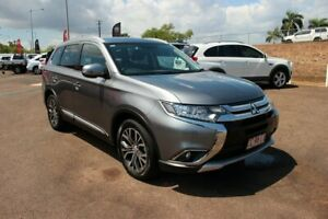 2016 Mitsubishi Outlander ZK MY17 LS 4WD Grey 6 Speed Constant Variable Wagon The Gardens Darwin City Preview