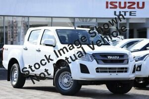 2019 Isuzu D-MAX MY19 SX Crew Cab Splash White 6 Speed Sports Automatic Utility Townsville Townsville City Preview