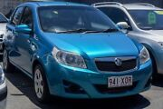 2008 Holden Barina TK MY08 Blue 4 Speed Automatic Hatchback Main Beach Gold Coast City Preview