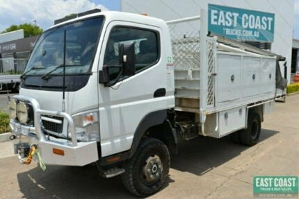 2009 MITSUBISHI FUSO CANTER Service Vehicle 4x4 Tray Top SN#5511 Acacia Ridge Brisbane South West Preview