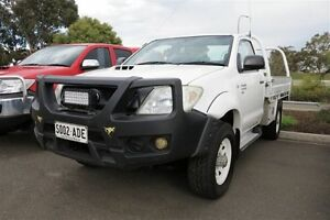 2009 Toyota Hilux KUN26R 09 Upgrade SR (4x4) White 5 Speed Manual Cab Chassis Kadina Copper Coast Preview