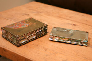 Mexican Silver Mother of Pearl boxes Peterborough Peterborough Area image 6