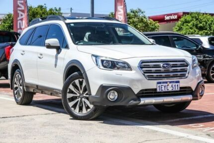 2015 Subaru Outback B6A MY15 2.0D CVT AWD Premium White 7 Speed Constant Variable Wagon