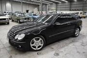 2009 Mercedes-Benz CLK280 C209 MY08 Avantgarde Black 7 Speed Automatic Coupe Lyndhurst Greater Dandenong Preview