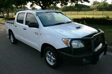 2006 Toyota Hilux KUN16R MY05 SR White 5 Speed Manual Utility Townsville Townsville City Preview