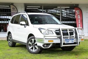 2018 Subaru Forester S4 MY18 2.0D-L CVT AWD White 7 Speed Constant Variable Wagon Victoria Park Victoria Park Area Preview