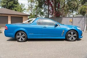 2014 Holden Ute VF MY14 SV6 Ute Storm Blue 6 Speed Sports Automatic Utility Greenacre Bankstown Area Preview