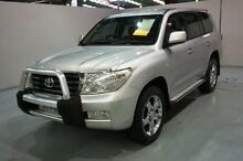2009 Toyota Landcruiser UZJ200R GXL Silver 5 Speed Sports Automatic Wagon Old Guildford Fairfield Area Preview